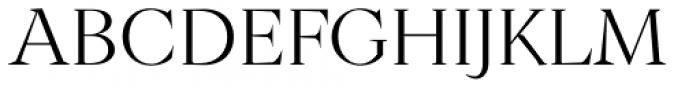 Archeron Pro Light Font UPPERCASE