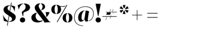 Archeron Pro Stencil Bold Font OTHER CHARS