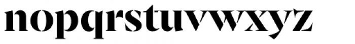 Archeron Pro Stencil Bold Font LOWERCASE