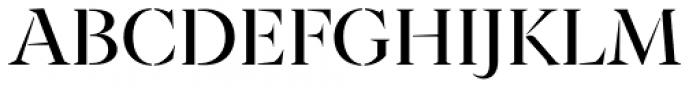 Archeron Pro Stencil Regular Font UPPERCASE