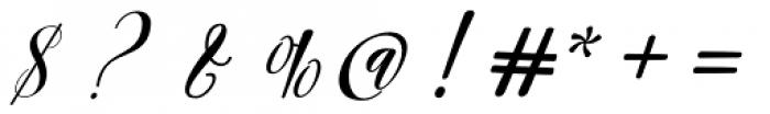 Archery Regular Font OTHER CHARS