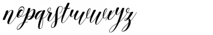 Archery Regular Font LOWERCASE