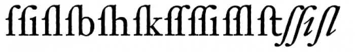 Archetype Xperts Font LOWERCASE