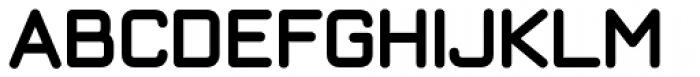 ArchiType Rounded Bold Font UPPERCASE