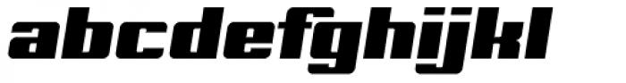 Archie Pro Italic Font LOWERCASE