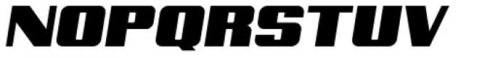 Archie Unicase Italic Font UPPERCASE