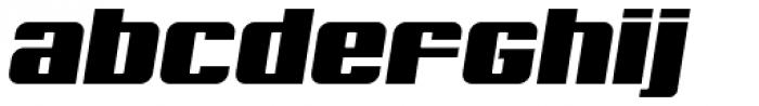 Archie Unicase Italic Font LOWERCASE