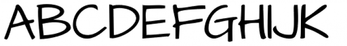 Architect's Daughter Font UPPERCASE