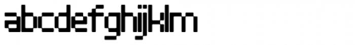 Architype Stedelijk Font LOWERCASE
