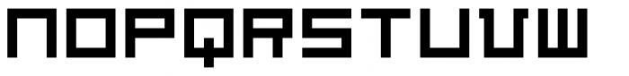Architype Van Doesburg Font LOWERCASE