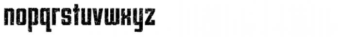 Archiva Bold Worn Font LOWERCASE