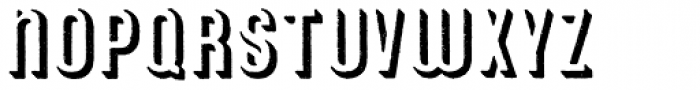 Archive American Shadow Font UPPERCASE