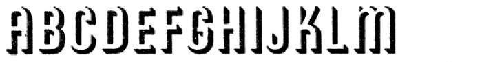 Archive American Shadow Font LOWERCASE