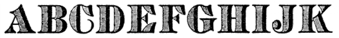 Archive Copperplate Head Font UPPERCASE