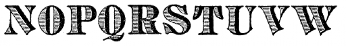 Archive Copperplate Head Font LOWERCASE