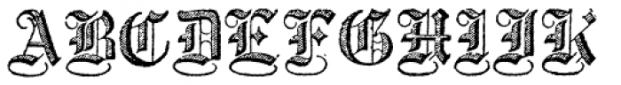 Archive Copperplate Text Font UPPERCASE