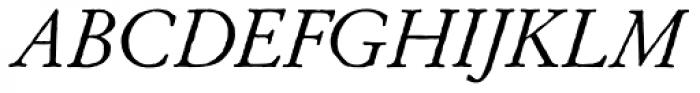 Archive Garamond Exp Italic Font UPPERCASE