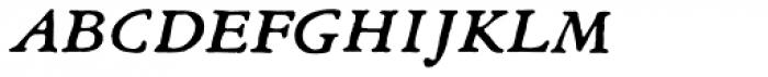 Archive Garamond Exp Italic Font LOWERCASE