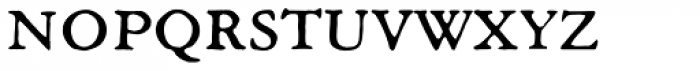Archive Garamond Exp Font LOWERCASE