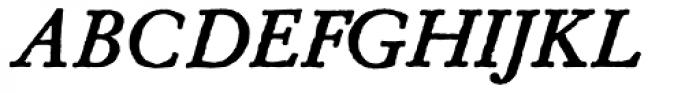 Archive Garamond Pro Bold Italic Font UPPERCASE