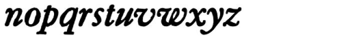 Archive Garamond Pro Bold Italic Font LOWERCASE