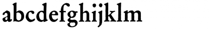 Archive Garamond Std Bold Font LOWERCASE