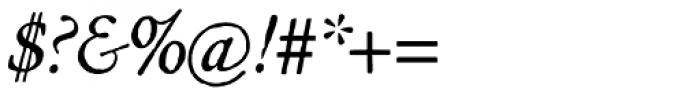 Archive Garamond Std Italic Font OTHER CHARS