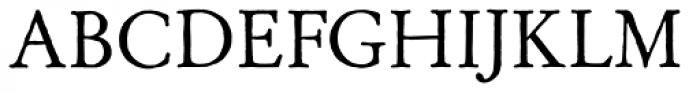 Archive Garamond Std Font UPPERCASE
