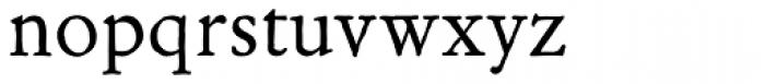 Archive Garamond Std Font LOWERCASE