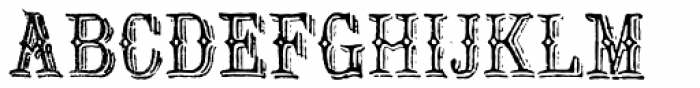 Archive Ironlace Font UPPERCASE