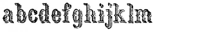 Archive Ironlace Font LOWERCASE