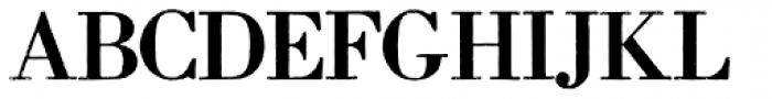 Archive Modern II Font UPPERCASE