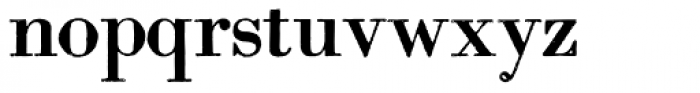 Archive Modern II Font LOWERCASE