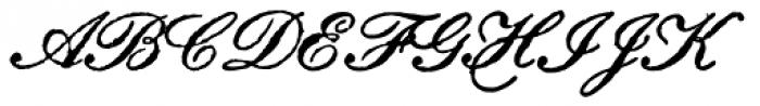 Archive Petite Script Font UPPERCASE