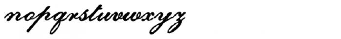 Archive Petite Script Font LOWERCASE