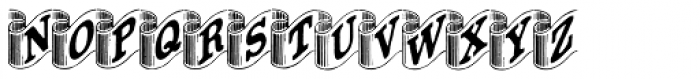 Archive Ribbon Font UPPERCASE