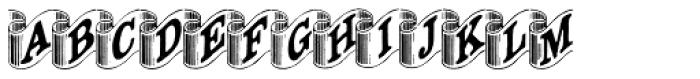 Archive Ribbon Font LOWERCASE