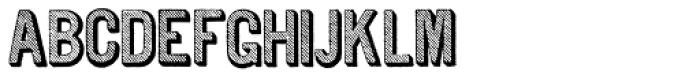 Archive Tilt Font UPPERCASE