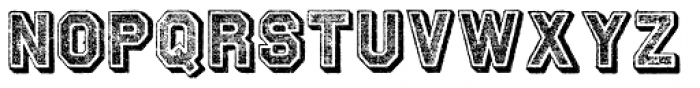 Archive Tinted Font UPPERCASE