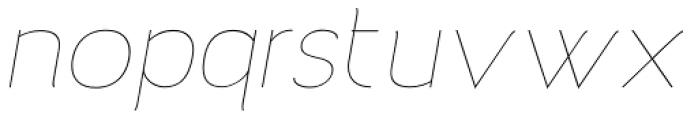 Archivio Italic 100 Font LOWERCASE