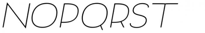 Archivio Italic 400 Font UPPERCASE