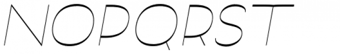 Archivio Italic Inverted 400 Font UPPERCASE