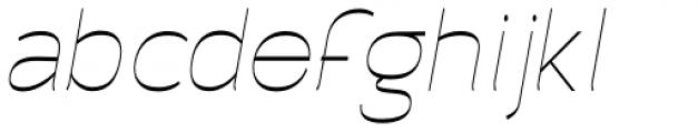 Archivio Italic Inverted 400 Font LOWERCASE