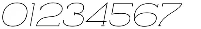 Archivio Italic Slab 200 Font OTHER CHARS