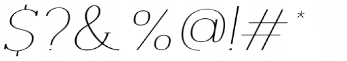 Archivio Italic Slab Contrasted 400 Font OTHER CHARS