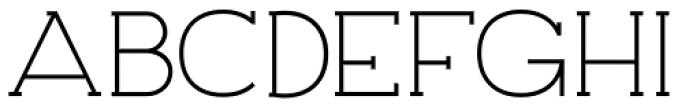 Archivio Slab 500 Font UPPERCASE
