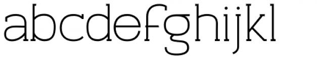 Archivio Slab 500 Font LOWERCASE