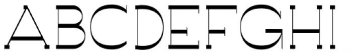 Archivio Slab Experimental 400 Font UPPERCASE
