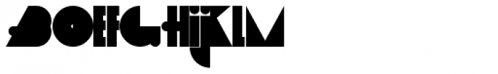 Arco Normal Font LOWERCASE