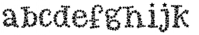 Arco Star Bright Font LOWERCASE